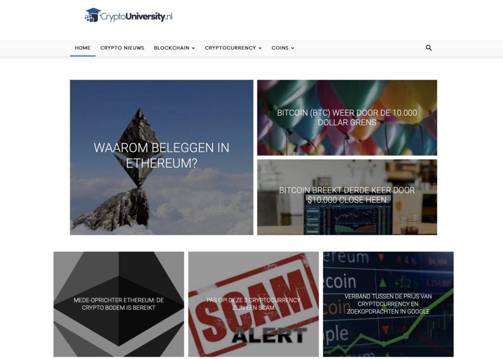 Cryptouniversity handleidingen