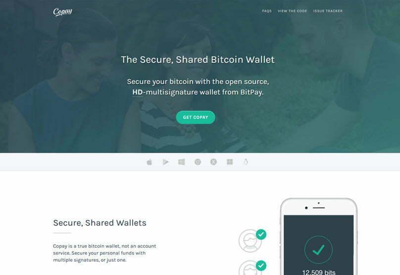 copay software wallet