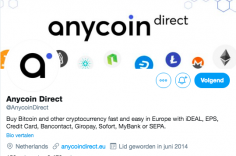 Anycoin Direct Twitter