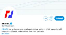 Bittmex Twitter