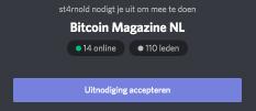 Bitcoinmagazine discord